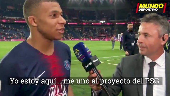 """Mbappé: """"Me quedo en el PSG; veré los partidos de Zizou como un admirador"""""""