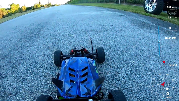 Electric RC Car Speeds Its Way To 122MPH