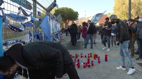 Los homenajes a Maradona se multiplican en todo el mundo