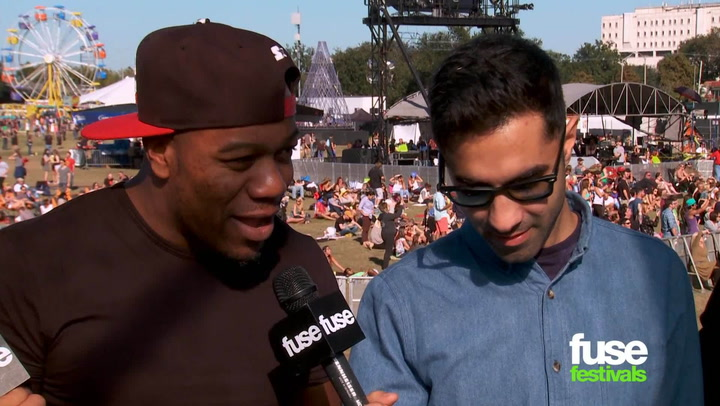 UK Electronic Act Rudimental Reveal Upcoming Studio Session With Nas at Voodoo 2013