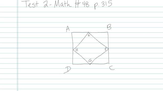 Test 2 - Math - Question 48