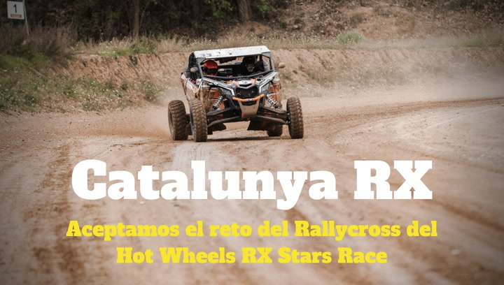 Catalunya RX: MD participa del reto del Rallycross de Hot Wheels RX Stars Race