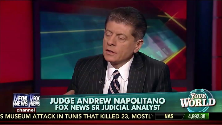 Image result for photos of judge napolitano neil cavuto