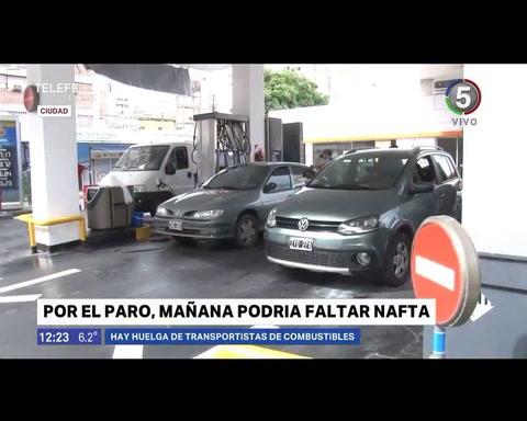 Pese al paro, el municipio asegura que el combustible para el transporte está garantizado