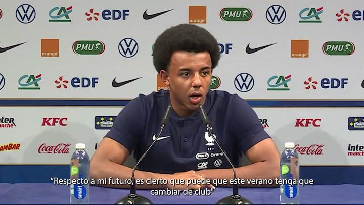 """Koundé: """"Puede que este verano cambie de club"""""""