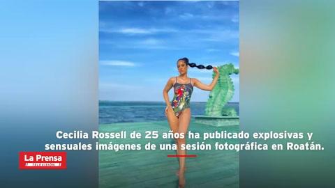 Explosivas imágenes en traje de baño de Miss Honduras Universo 2020