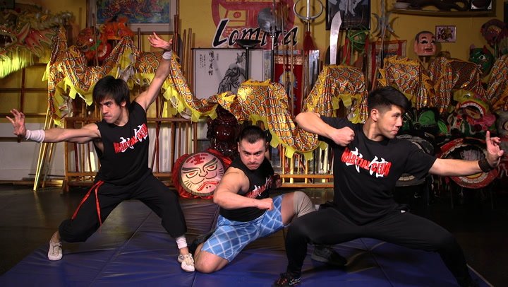 Daniel Mah has gained internet fame for his martial arts videos.