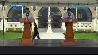 Honduras y Guatemala denuncian motivos políticos en caravana de hondureños