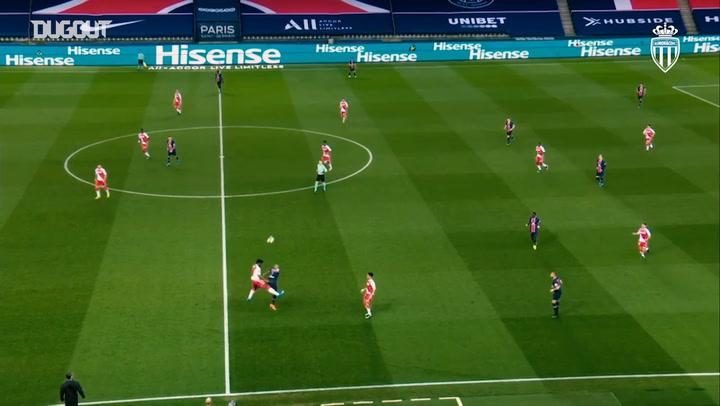 Axel Disasi's great performance vs Paris Saint-Germain