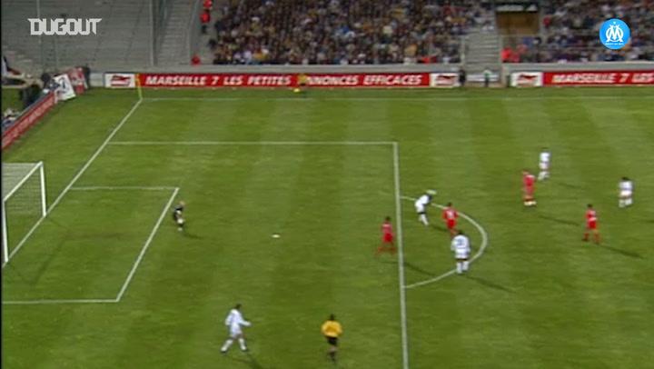 Frédéric Brando's long distance goal vs AS Monaco