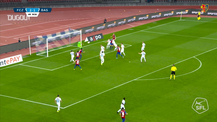 Eray Cömert's first goal in 2019-20