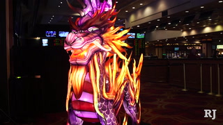 Kylin lantern unveiled at Gold Coast Casino ahead of China Lights Festival