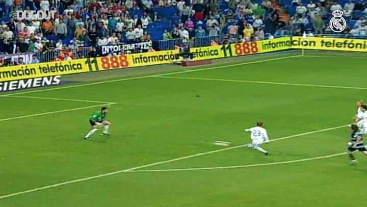 David Beckham's goals for Real Madrid - Part V