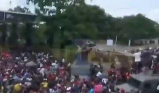 Histórico: Así ingresó la caravana migrante de hondureños a México