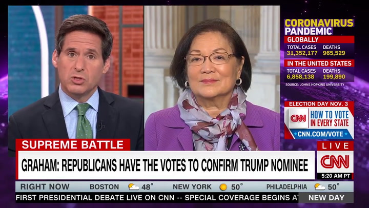 Dem Sen. Hirono: Packing the Court 'Long Overdue Court Reform'