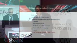 Inflammation et infection de patch carotidien