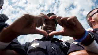 Celebrating Dallas Police during the Weekend Of Honor