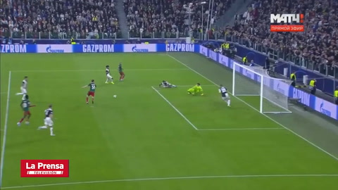 Video: Juventus 2-1 Lokomotiv Moscú (Champions League)