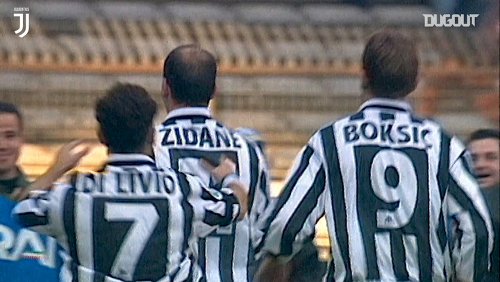 Zidane's incredible free-kick against Bologna