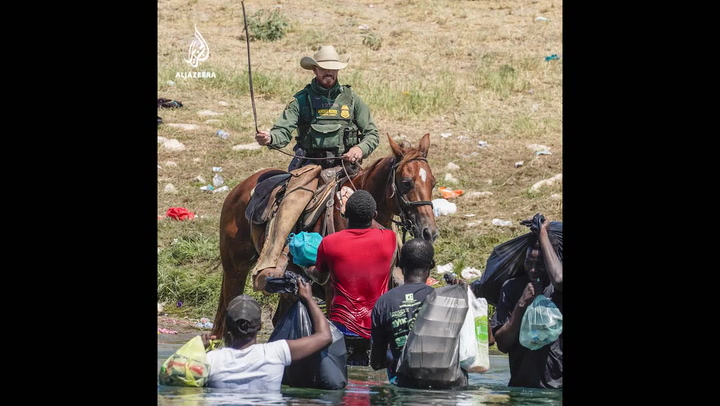 White House condemns Border Patrol use of whips on Haitian migrants