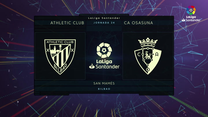 LaLiga (J24): Resumen y gol del Athletic 0-1 Osasuna