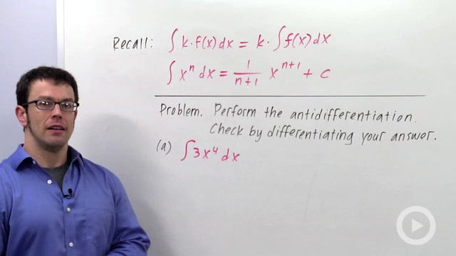 Indefinite Integrals - Problem 1