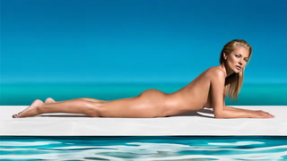 Kate Moss stiller i Playboy
