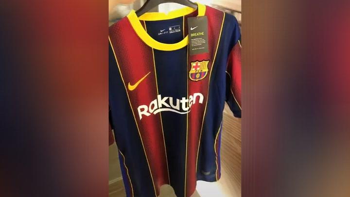 ¡La nueva camiseta del Barça ya está a la venta!