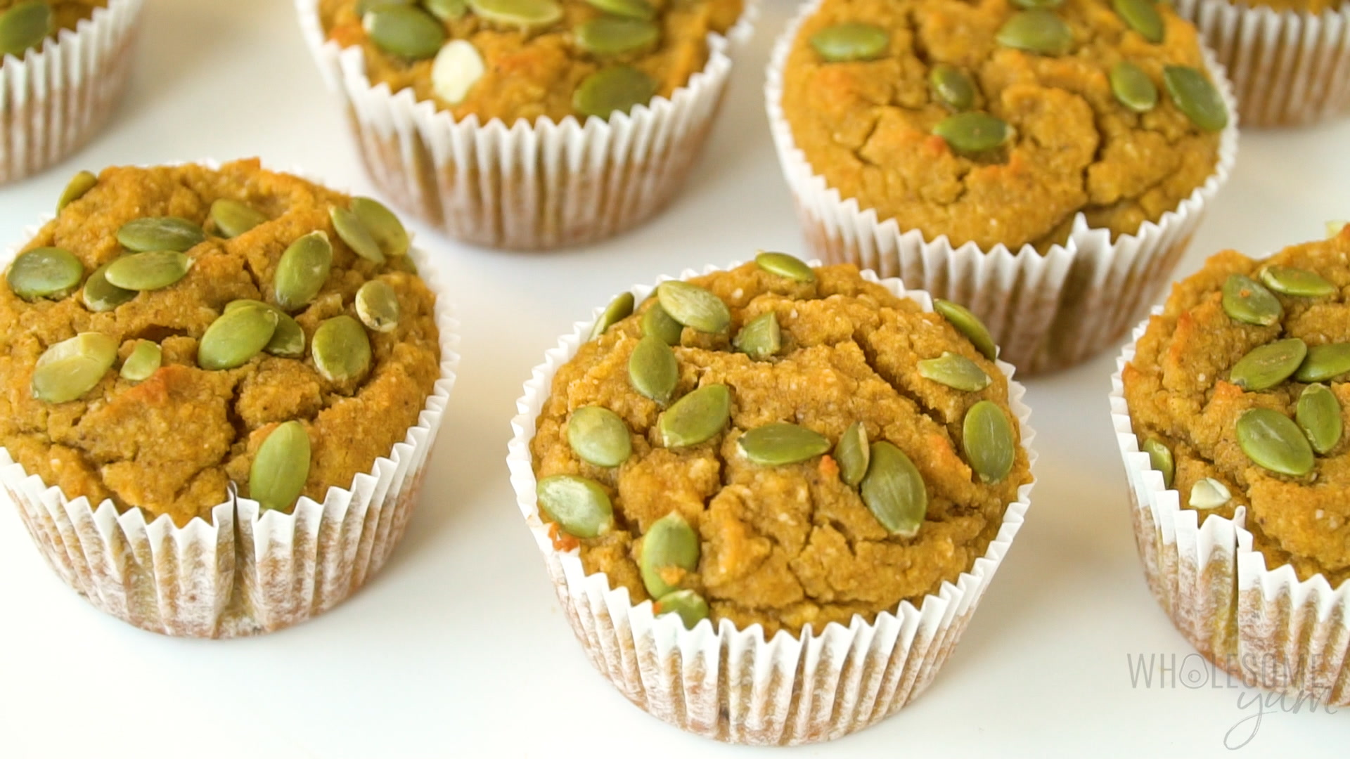 Keto Low Carb Pumpkin Muffins Recipe with Coconut Flour & Almond Flour
