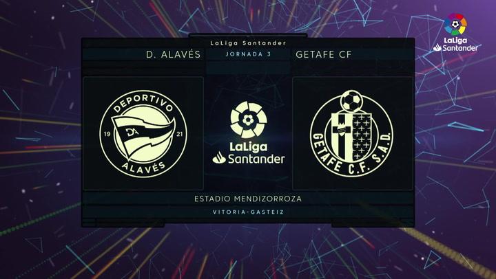 LaLiga (J2): Resumen del Alavés 0-0 Getafe