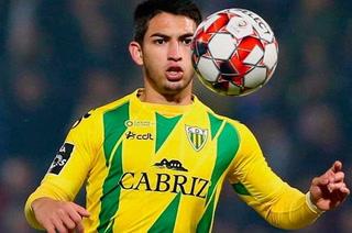 Jonathan Rubio ingresó de cambio en empate del Tondela en Portugal que sigue peligrando en zona de descenso