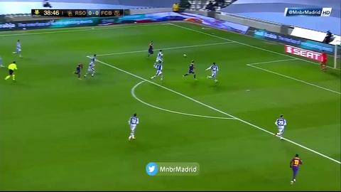 Video: Frenkie de Jong anota el 1-0 del Barcelona ante la Real Sociedad (Supercopa de España).