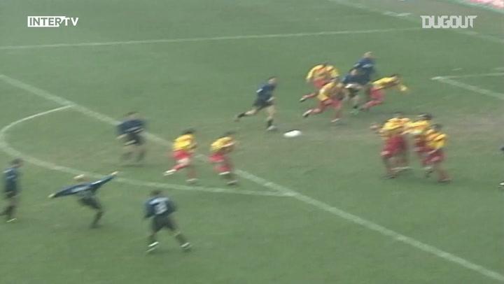 Free Kicks: Georgatos' Curled Shot Vs Lecce