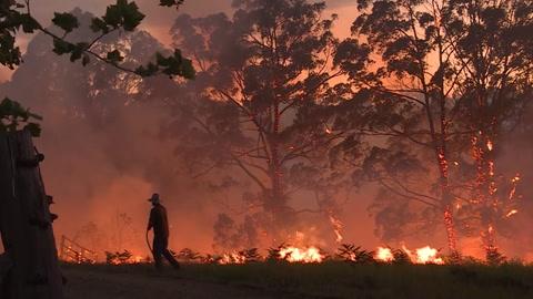Los incendios en Australia alcanzan la periferia de Sídney