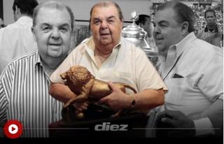 Rafael Ferrari, un empresario exitoso, solidario y amante del fútbol