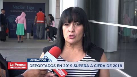 Deportados en 2019 supera a cifra de 2018