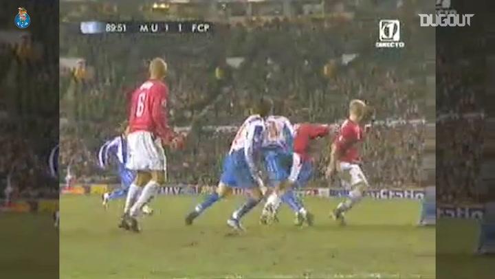 Throwback: Mourinho Celebrates Porto's Old Trafford Win