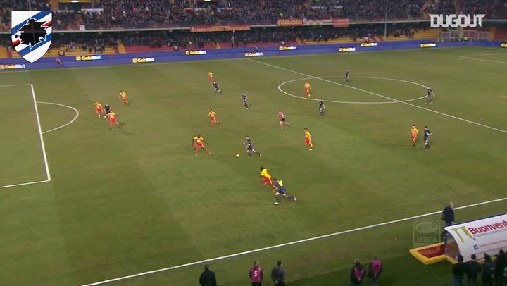 Kownacki's goal against Benevento