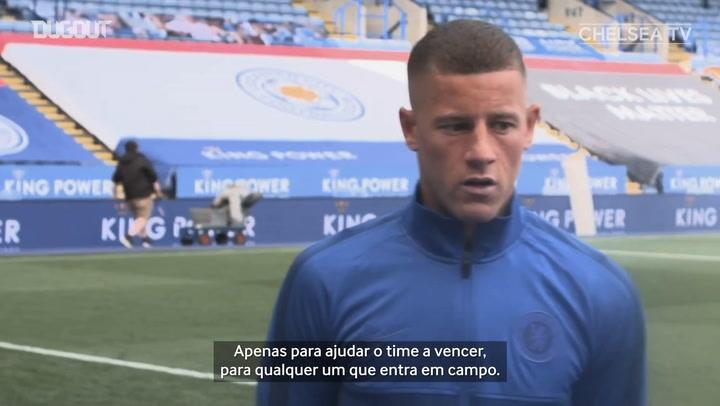 Barkley vibra após decidir para o Chelsea na Copa da Inglaterra