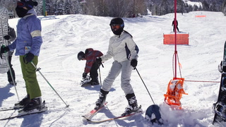 Lee Canyon snow makes skiers smile