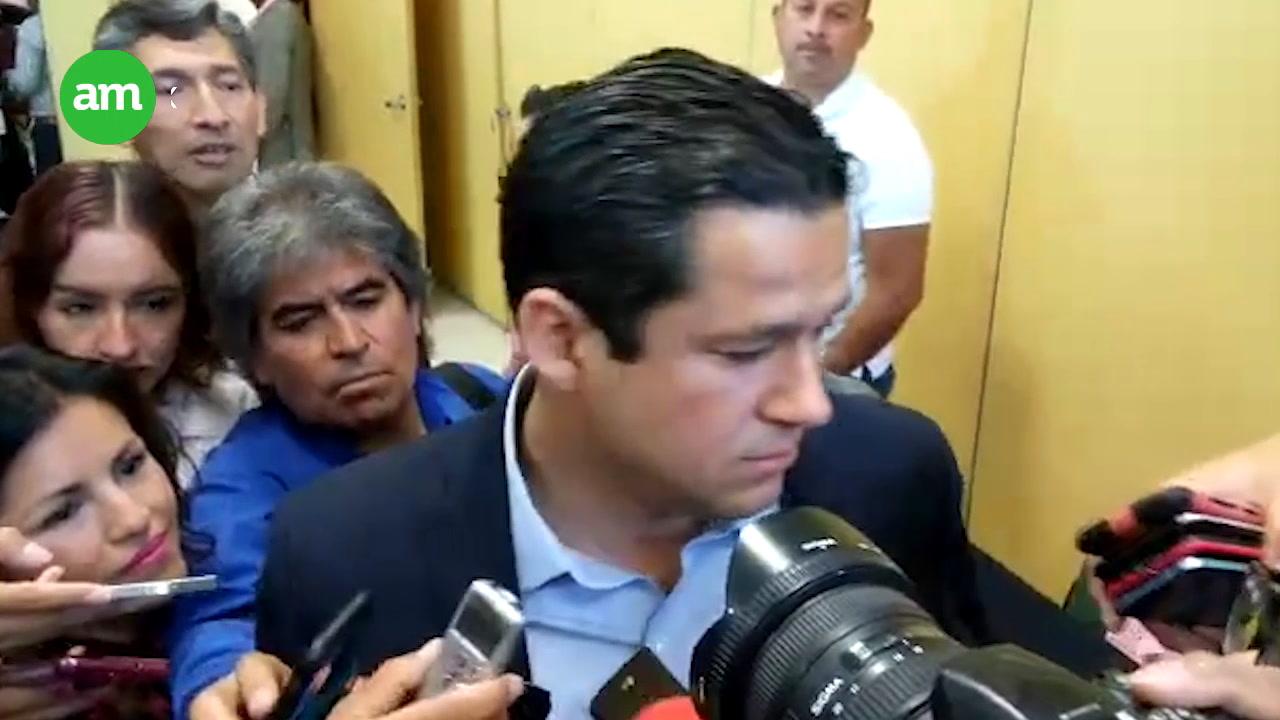 Ricardo Sheffield cuestiona a Diego Sinhué sobre gastos de campaña