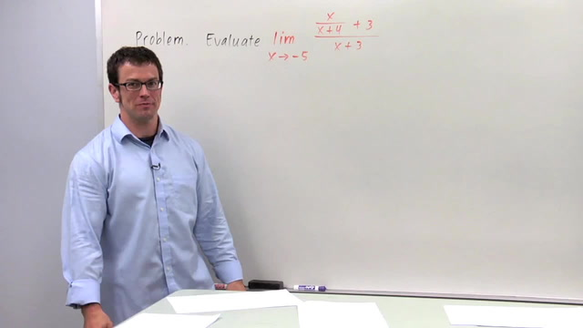 Evaluating Limits Algebraically, Part 1 - Problem 2