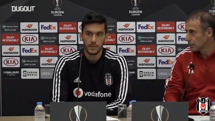 Umut Nayir Bratislava maçı öncesi konuştu