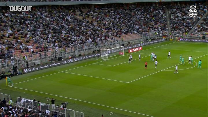 Toni Kroos' 'olympic' goal against Valencia