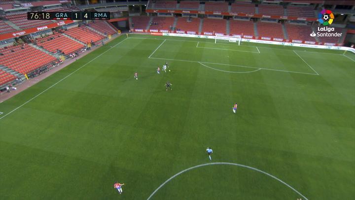 Gol de Benzema (1-4) en el Granada 1-4 Real Madrid