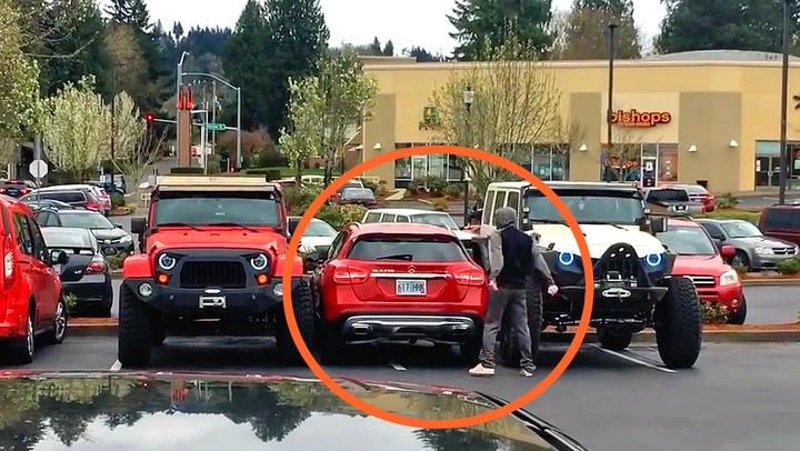 Bilist får lærepenge etter «idiotparkering»