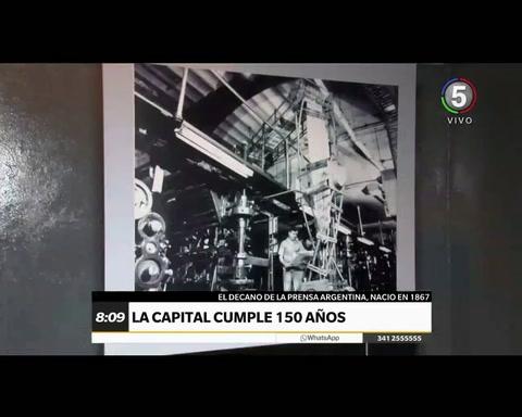 La Capital regala un show con acróbatas y láser en Colectividades