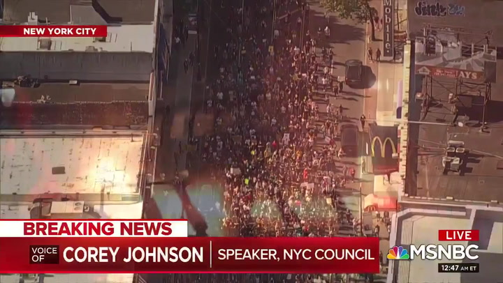 NYC Council Speaker Johnson: Police Response to Unrest Made People Feel Unsafe -- NYPD Setup Like 'the Invasion of Normandy'