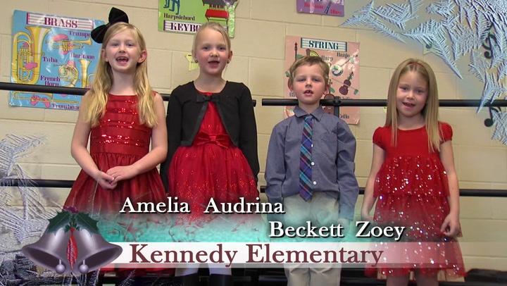 Jingle Bells Kennedy and Aurora Elementary Schools