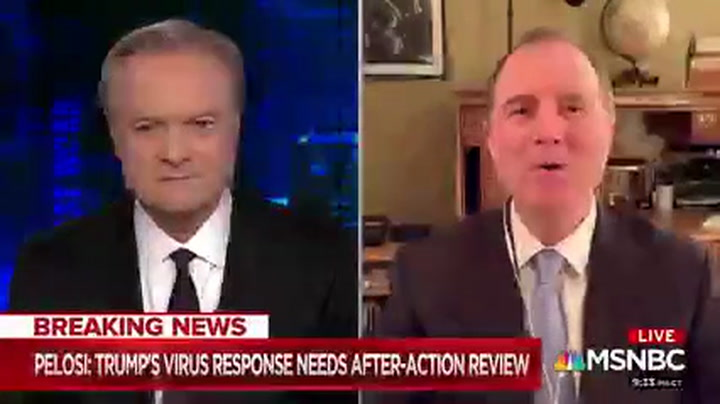 Schiff: Impeachment Excuse an 'Acknowledgement' Trump 'Screwed Up' Coronavirus Response
